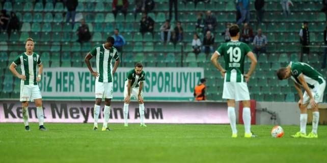 Bursaspor istikrarı yakalayamadı