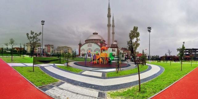 Camiler büyükşehirle sosyal alan oluyor...