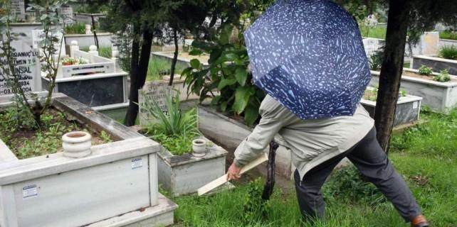 Bursa'da vicdansızlık...Mezarlıkta bulundu...