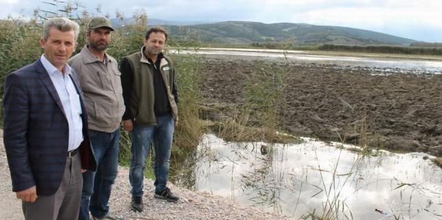 DSİ'nin becereksizliği 4500 dönümü sular altında bıraktı