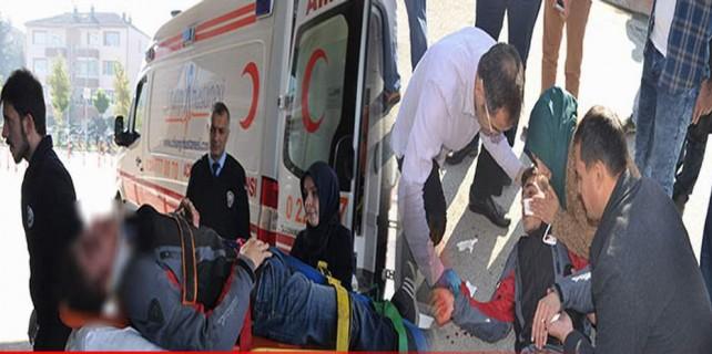 Bursa'da feci kaza saniye saniye görüntülendi...