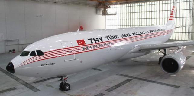 THY uçağından Bursa ismini kaldırdılar