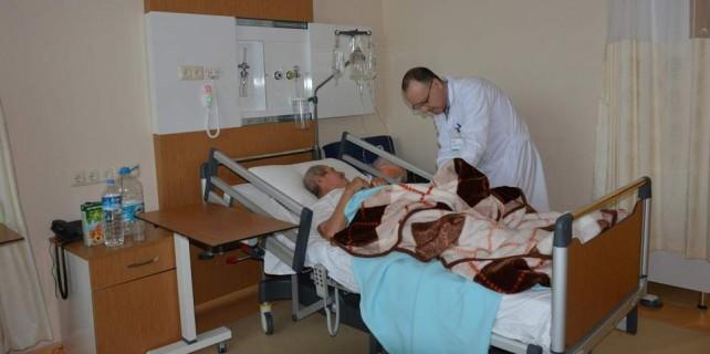 Bursa'da otel konforunda hastane...Bu ameliyat ilk kez yapıldı