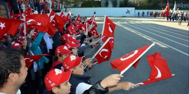 Bursa'da 92.yıl coşkusu...