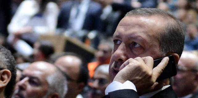 Erdoğan'a sürpriz telefon