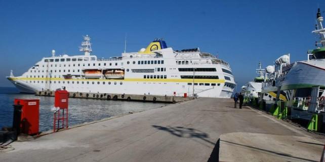 Dev turist gemisi Bursa'da...