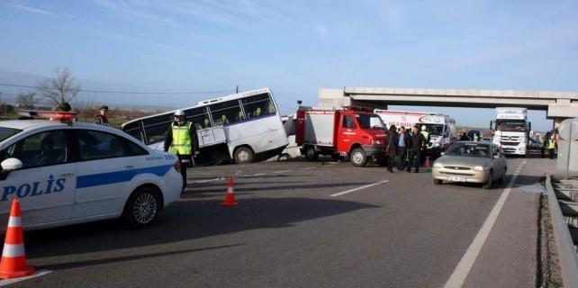 İki kişinin öldüğü otobüs kazasında ilginç ifade...