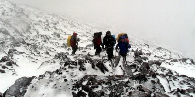 Bursalı dağcılar dünyanın zirvesinde...