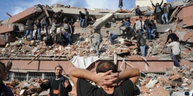 6,5 büyüklüğünde deprem...