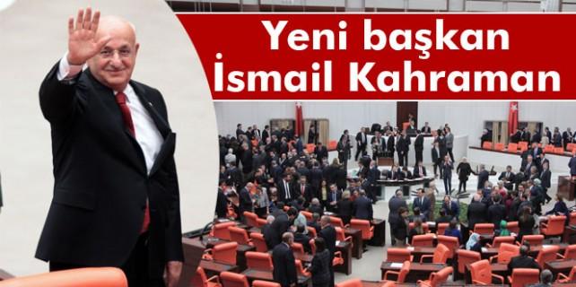 Meclis yeni başkanını seçti...