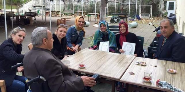 Osmanlı Ocakları'ndan anlamlı ziyaret...