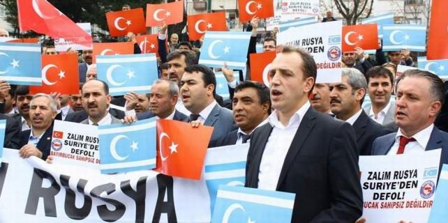 Bursa'dan Bayırbucak Türkleri'ne destek...