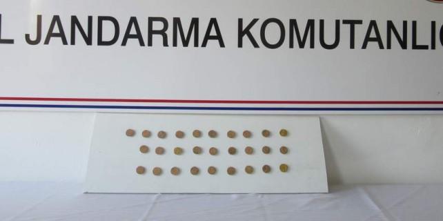 Roma'nın paraları Bursa'da çıktı