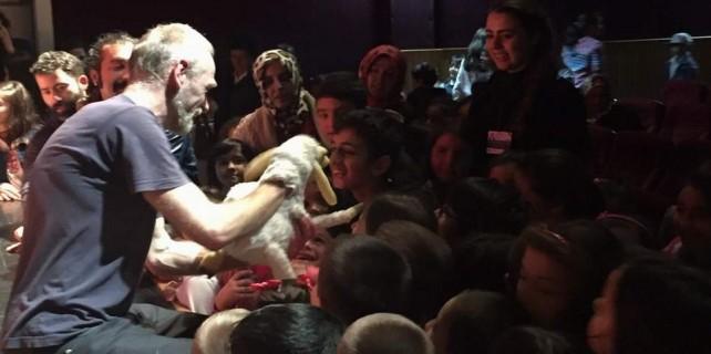 Bursa'da çocukların büyük coşkusu...