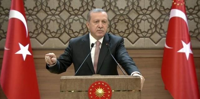 Erdoğan Putin'e sert cevap verdi...