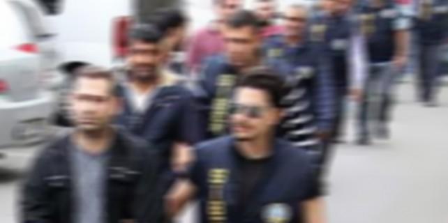 Bursa'da operasyonda 6 gözaltı...