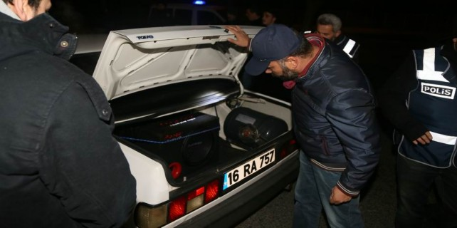 Bursa'da 1200 polisle dev operasyon...