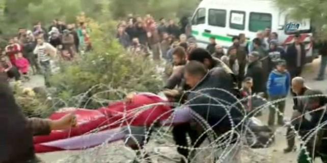 Türkmen Dağı'nda bombardıman sürüyor...