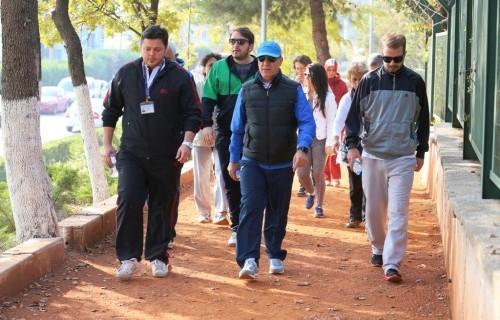 Nilüfer'de spor zamanı