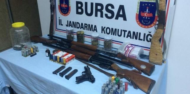Bunlar Bursa'da yakalandı...