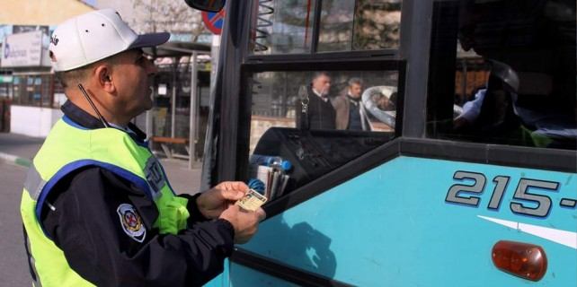 Bursa'da toplu ulaşımda pes dedirten hareket