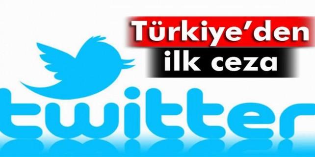 Türkiye twitter'a cezayı kesti