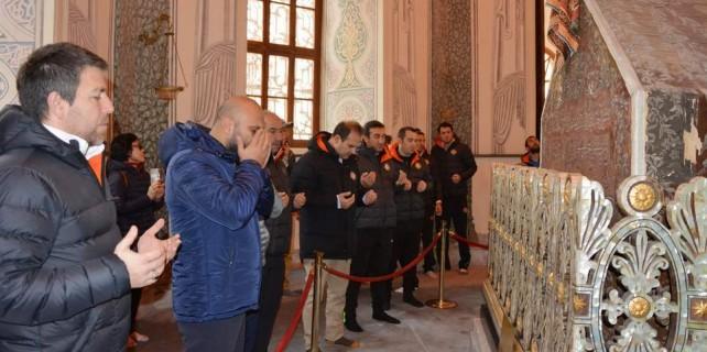 Osmanlıspor'dan adına yakışır ziyaret...