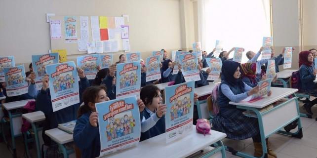 Bursalı çocuklardan yetimlere destek...
