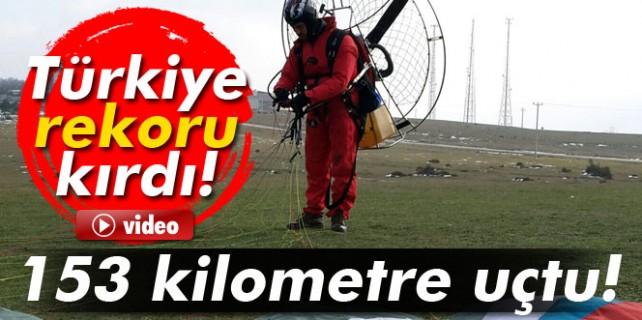 Havada Türkiye rekoru kırdı...