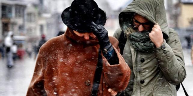 Bursa'lılar kalın paltoları hazırlayın