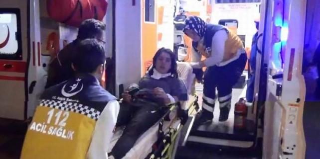 Bursa'da acı olay...Genç kadın ucuz atlattı