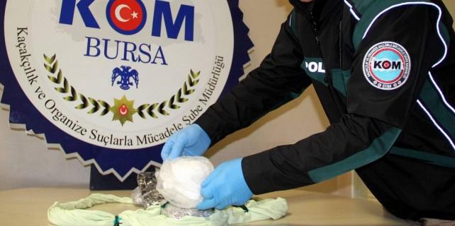Bursa'da uyuşturucuya 18 yıl hapis