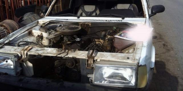 Bursa'da araçları böyle çaldılar...