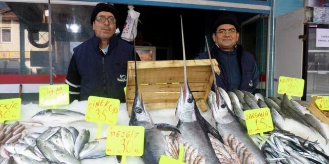 Bursa'da kılıç balığı bereketi...