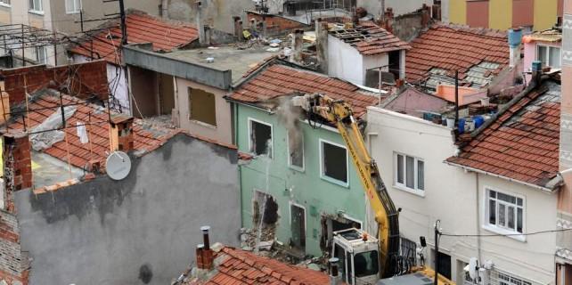 Bursa'da yıkım...