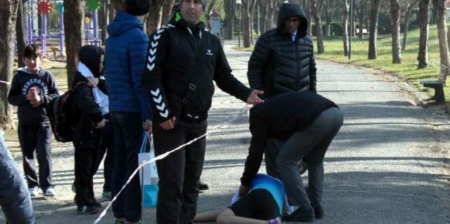 Bursa'da bayıltan koşu