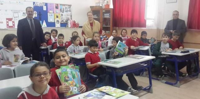 Çocuklara çevre eğitimi...