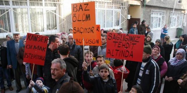 Bursa'da mahalle sakinleri ayaklandı...