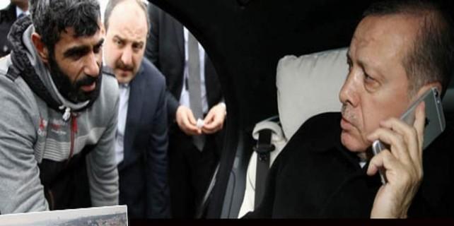 İntihara kalkıştı...Erdoğan engelledi
