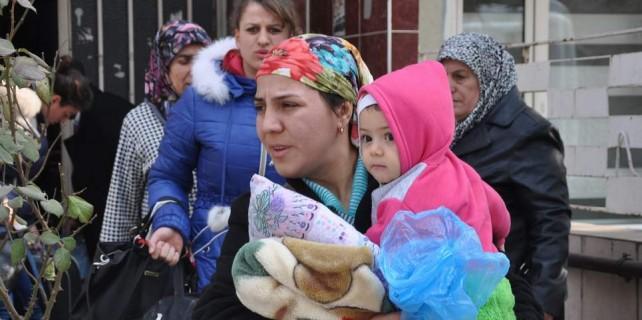 Rus zulmünden kaçtılar...Bursa'da misafir edildiler...Şimdi ise