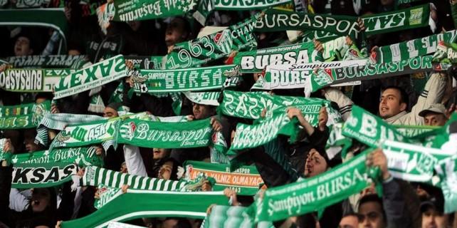 Bursaspor taraftarına uyarı...