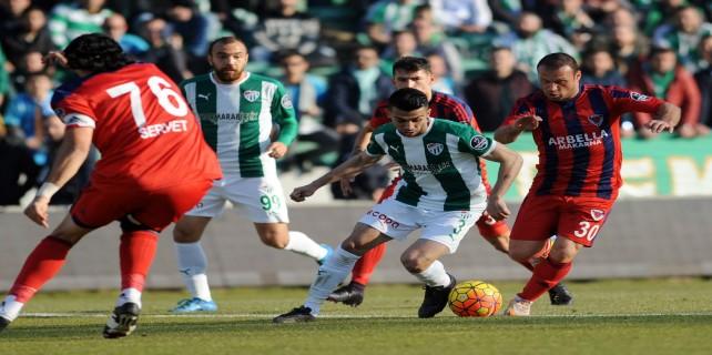 Bursaspor, tarihi stada 3 puanla veda etti