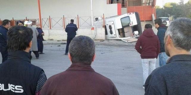 Bursa'da öğrenciler ölümden döndü...