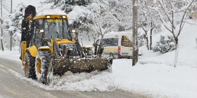 Bursa'da kar alarmı...