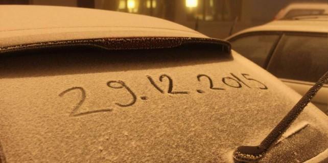 Uludağ'a beklenen kar geldi...