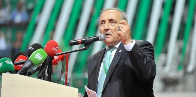 Bursaspor'un borcunu 5 yılda sıfırlayacağım...
