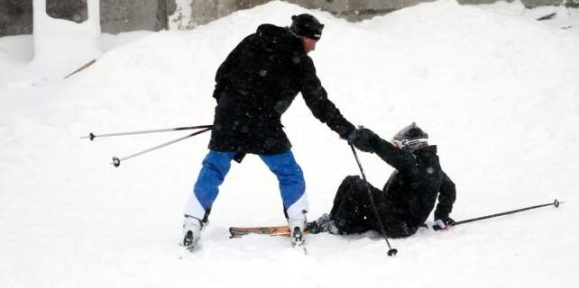 Uludağ'da karla birlikte tatilci bereketi