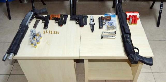 Bursa'da silah operasyonu...