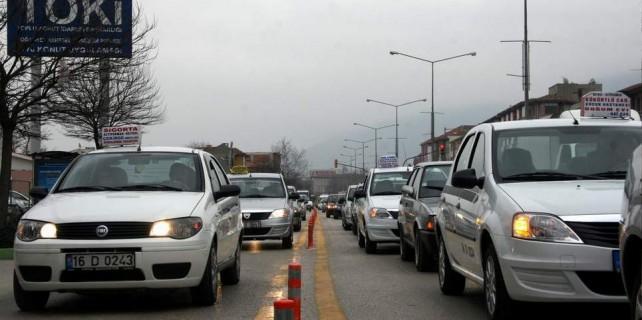Bursa'da taksi ve dolmuşlara zam...