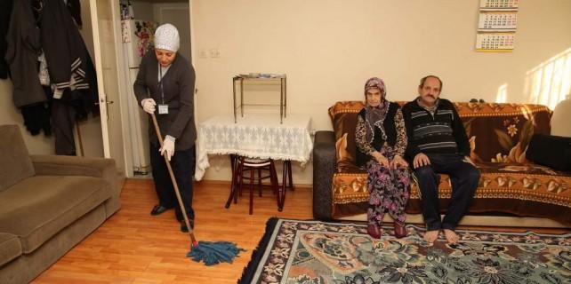 Bursa'da belediyeden evlat hizmeti...